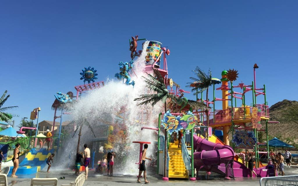 Wet n' Wild Las Vegas the perfect way for families to spend a hot day.