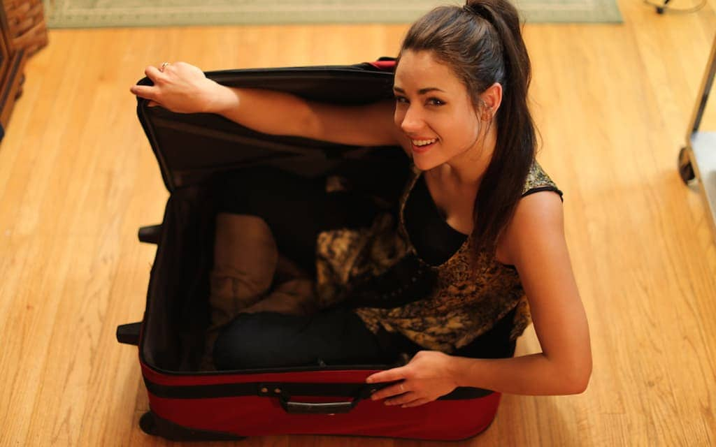 Be organized when packing