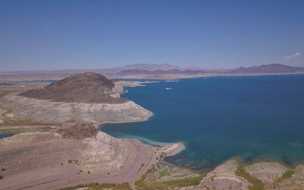Lake Mead aerial by MikesRoadTrip.com