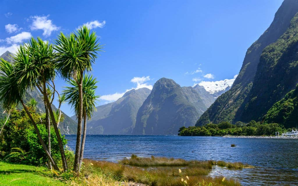 Milford Sound, New Zealand, adventure