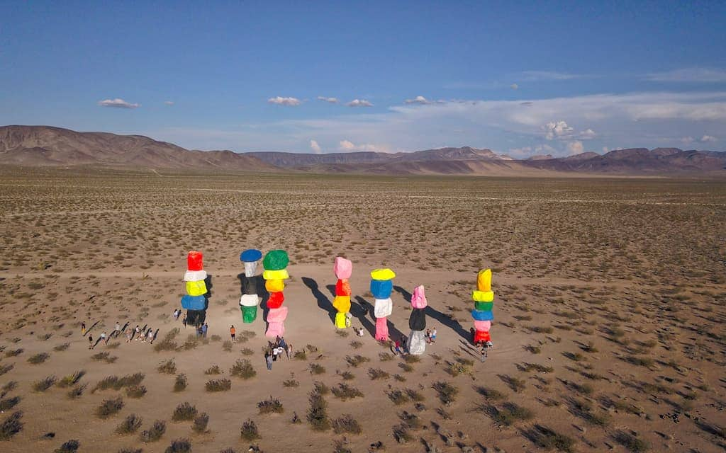 Seven Magic Mountains - Photo by: Mike Shubic of MikesRoadTrip.com