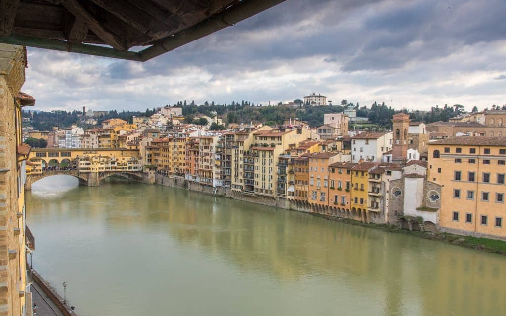 Best hotel views: We've stayed at Florence's Antica Torre di Via Tornabuoni six times now for the location, the rooms and the views of the Duomo in one direction and the Arno and Ponte Vecchio in the other direction