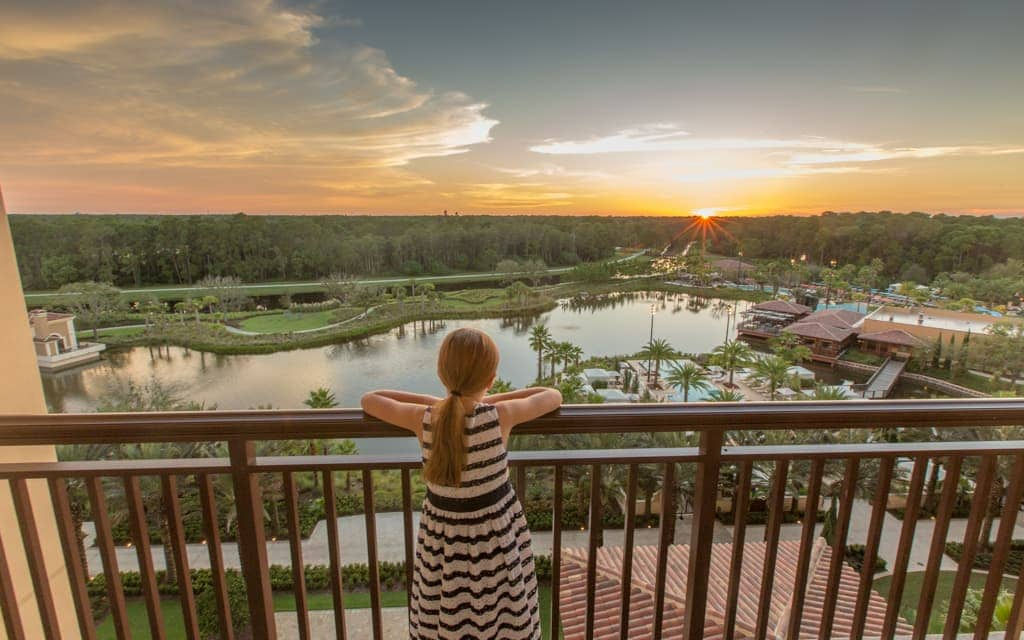 Best hotel views: You can see Walt Disney World's parks from the Four Seasons Orlando, and the nightly fireworks display at WDW, but the view is primarily of nature - a nice escape after a day at theme parks!