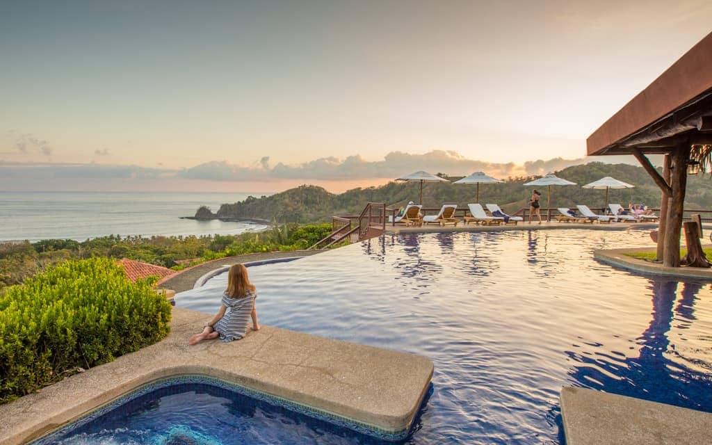 Best hotel views: Sunset from Costa Rica's Hotel Punta Islita