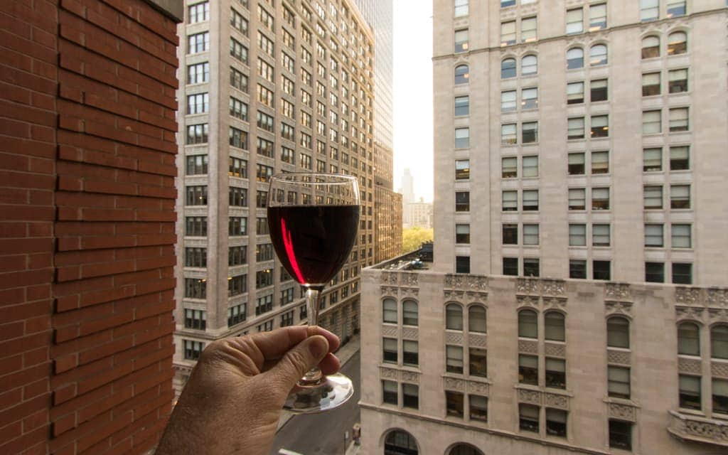 Best hotel views: In New York it's easy to end up with a view of an alley or the side of another building just feet away, so I always appreciate when I have a view. I have a couple of favorites along Park Avenue, but Hotel Giraffe gets the nod because of the balconies.