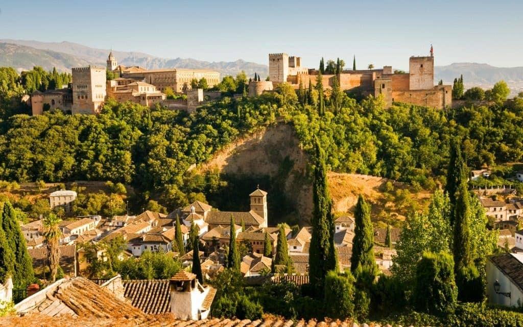 Cities in Spain - Granada