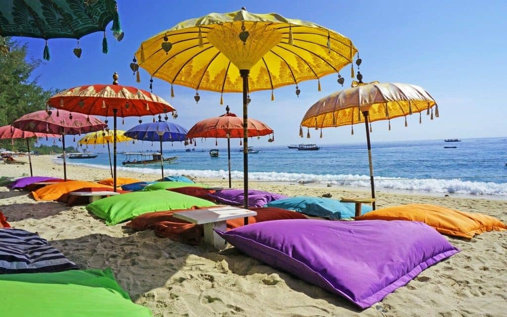Must do in Bali - beach view