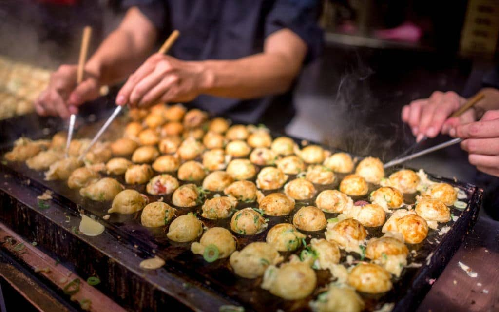 Japanese Street Food Takoyaki