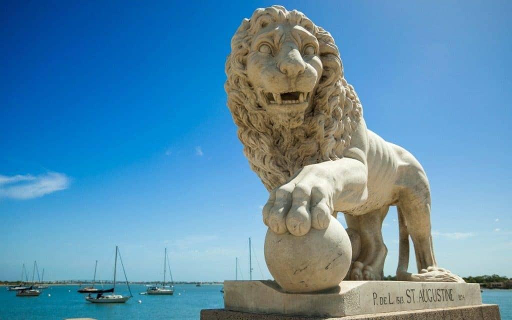 Bridge of Lions in St. Augustine, Florida