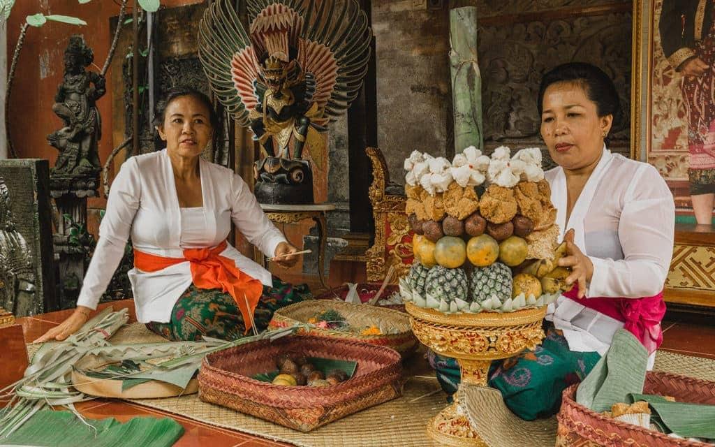 Unique Cultural Experiences in Bali Gebogan