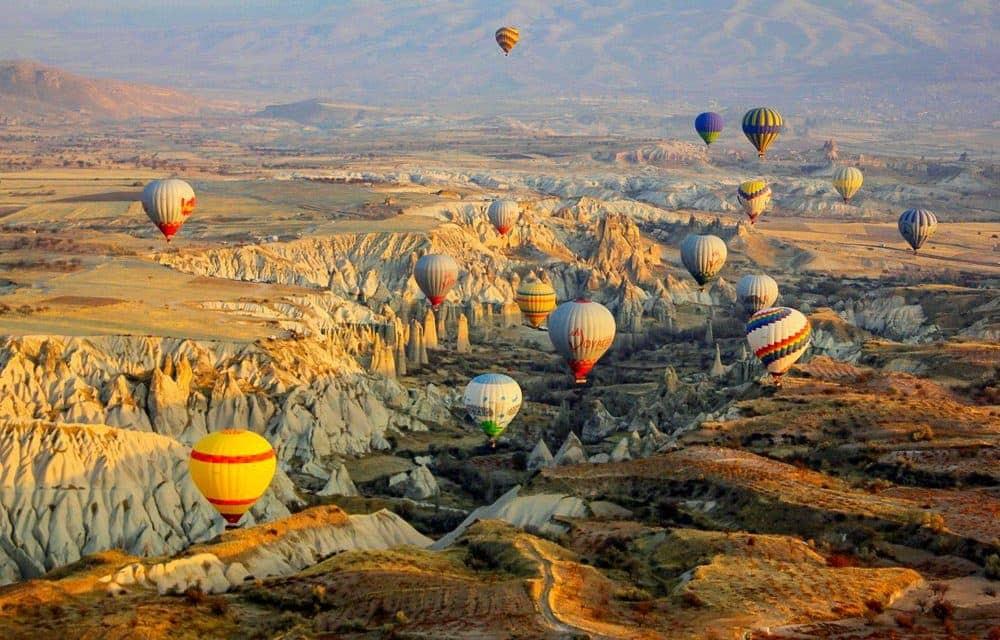 Bucket list activities: Hot air balloons Cappadocia