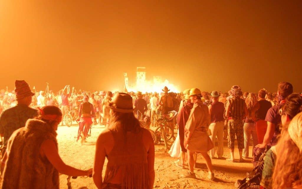 Bucket list activities: Burning Man