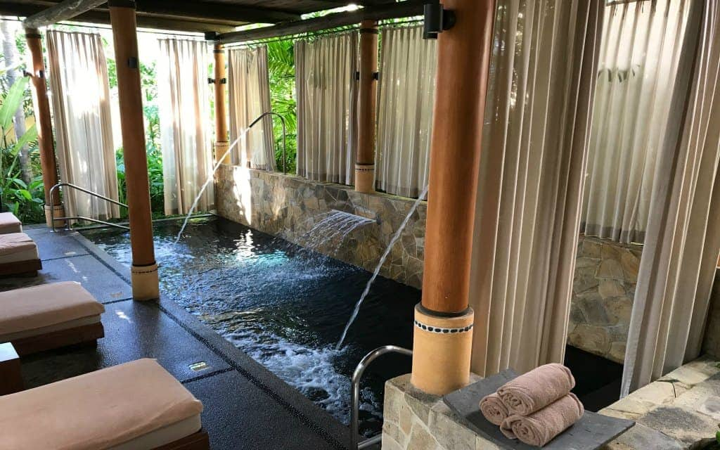 A water sanctuary in the spa at Fiesta Americana Puerto Vallarta
