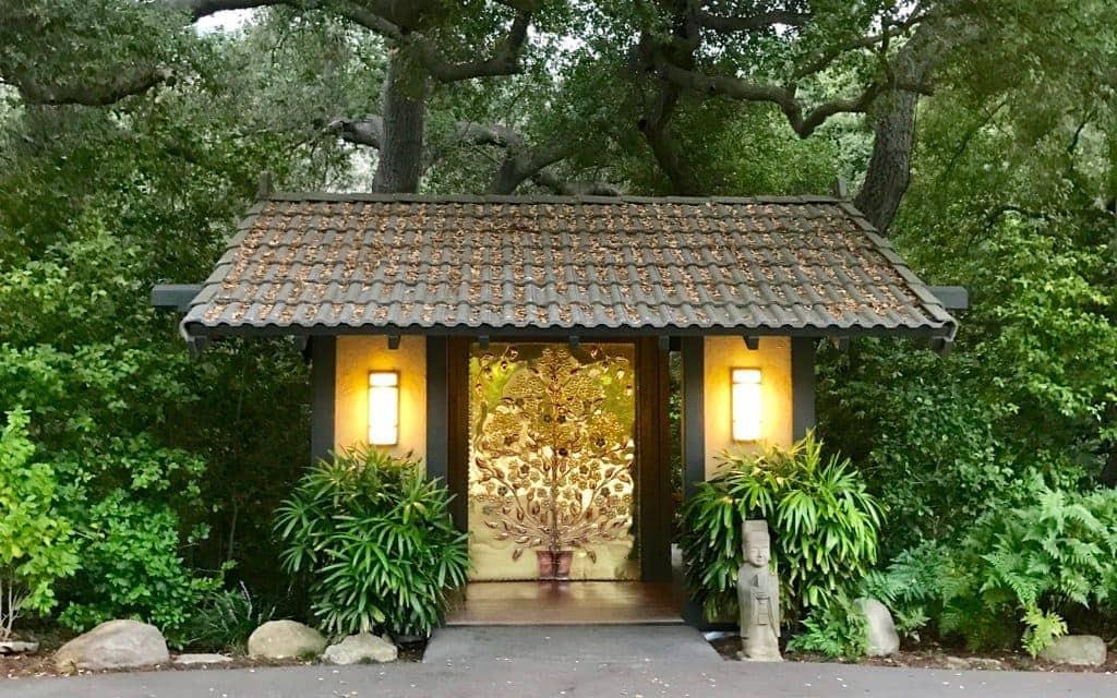 The Golden Door, luxury spa