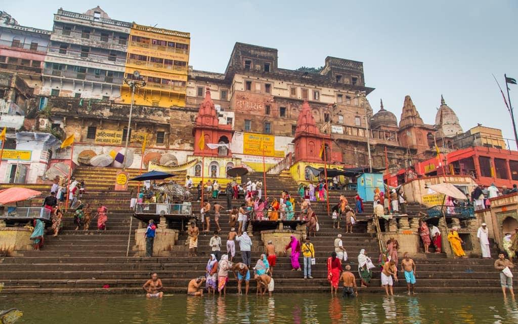 Bucket list cities: Morning along the Ganges in Varanasi