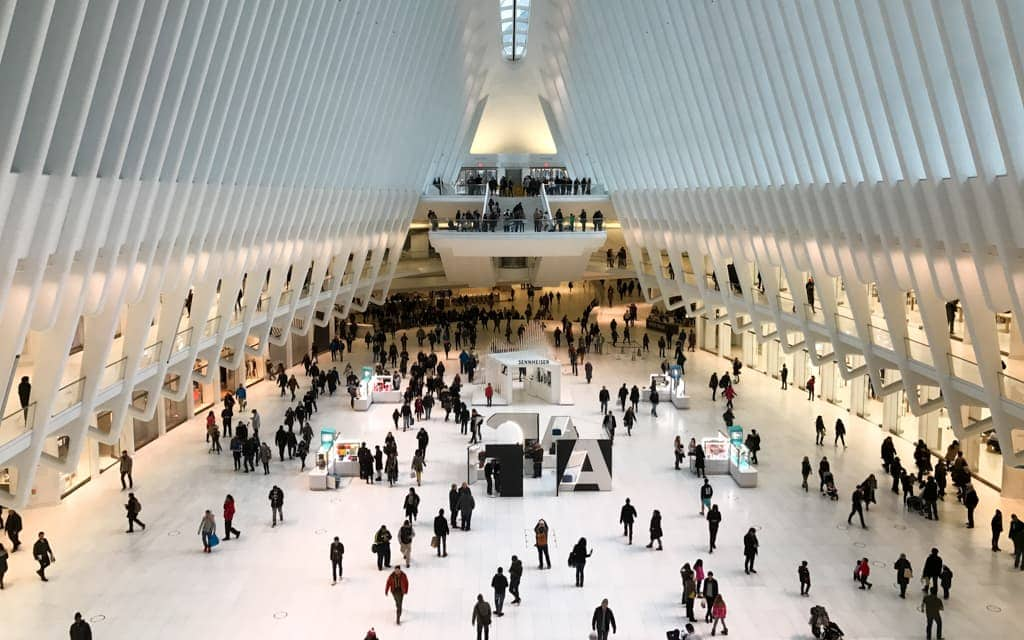 Bucket list cities: The Oculus - New York City's transportation hub at the World Trade Center