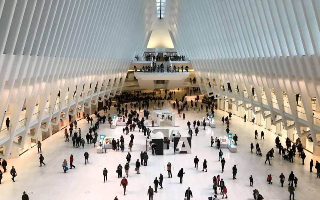 Bucket list cities: The Oculus - New York City's transportation hub at the World Trade Center