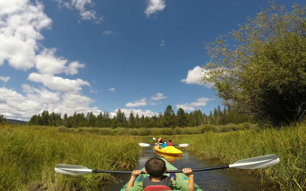 Bend, Oregon has many outdoor activities for teens.