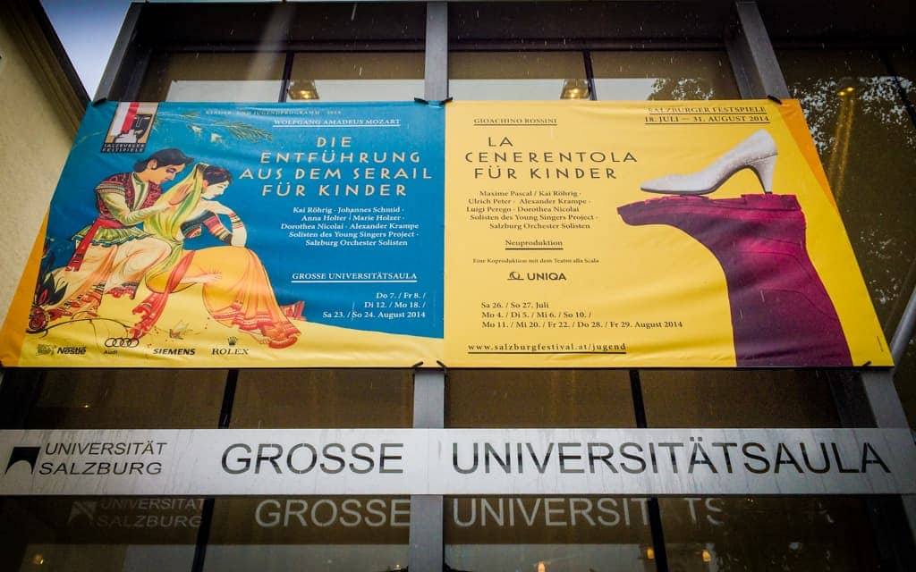 Europe Kid Activities: Two of the kid-friendly operas we attended at the Salzburg Festival in 2014