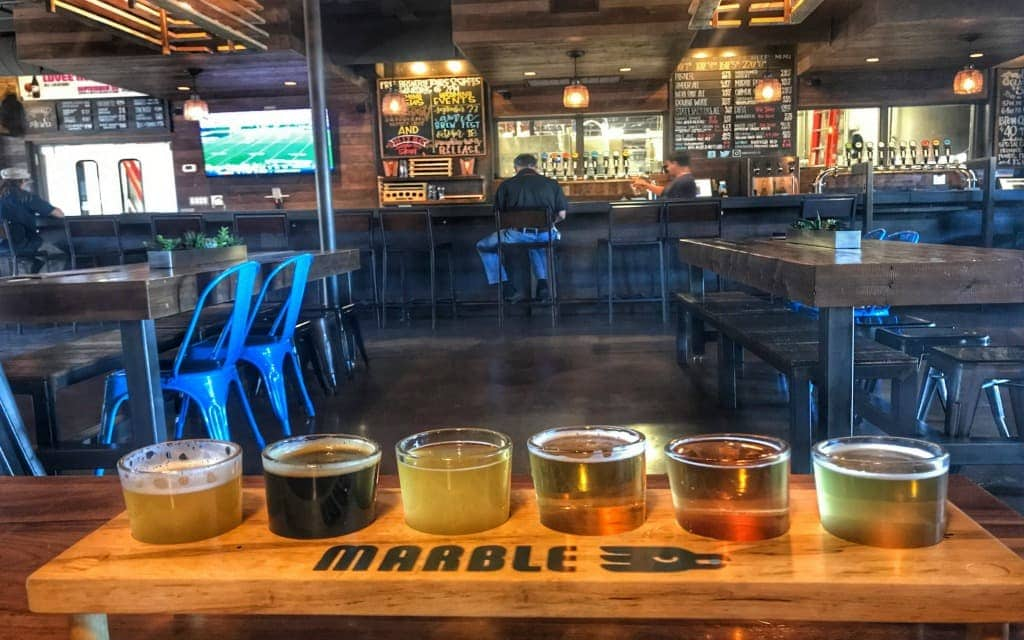 Marble Brewing, Albuquerque's most well known brewery.