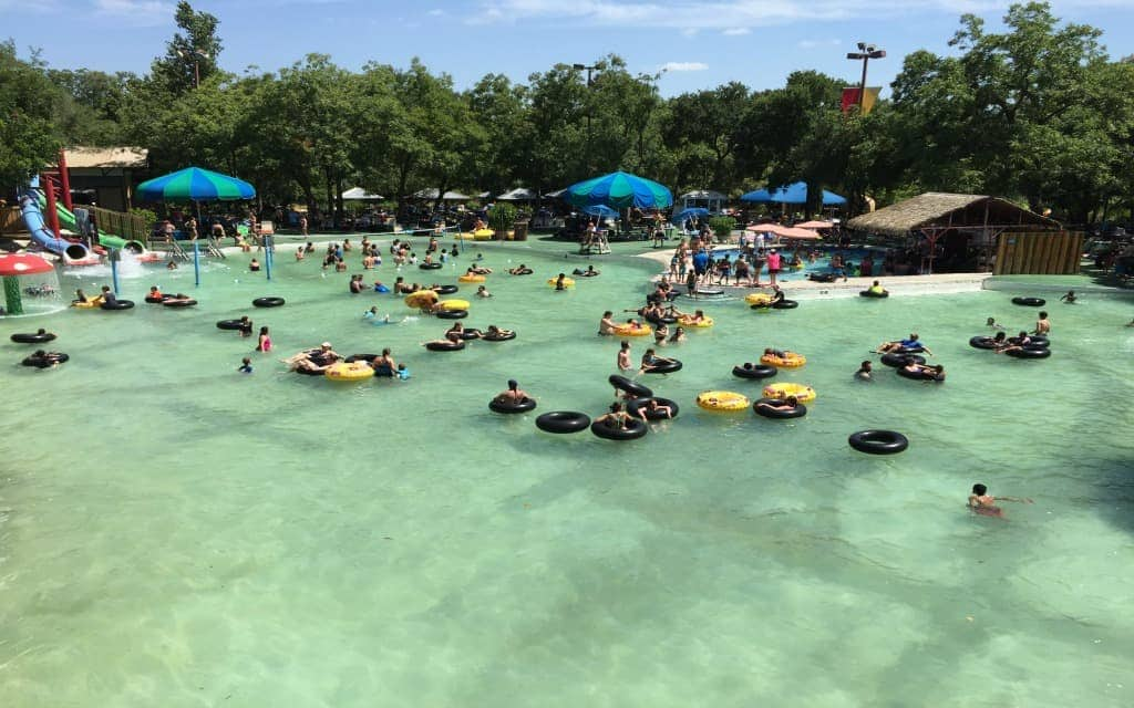 Teens and teens will love spending a day or two at Schlitterbahn.