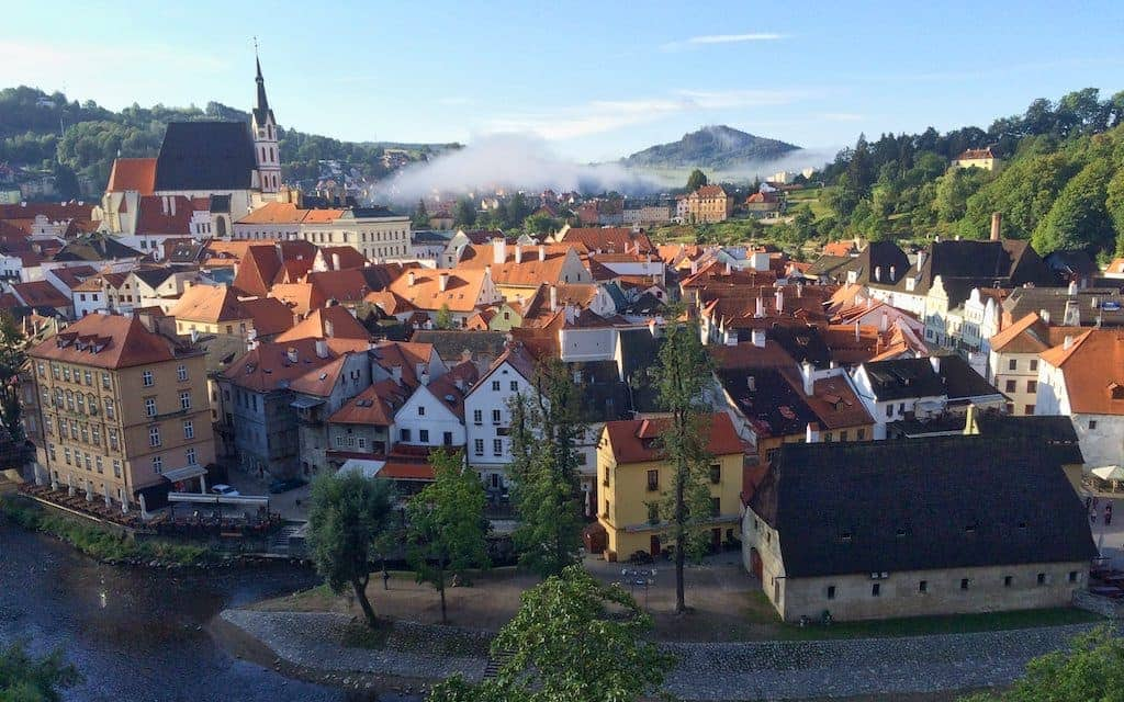 Smaller Cities in Europe Cesky Krumlov by Mike Shubic