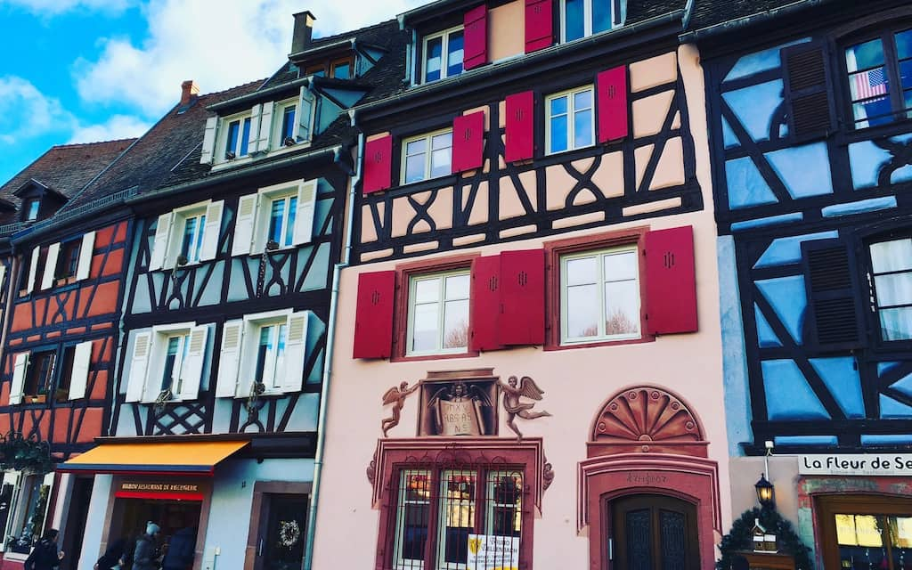 One of the most colorful places in the world is COLMAR, FRANCE