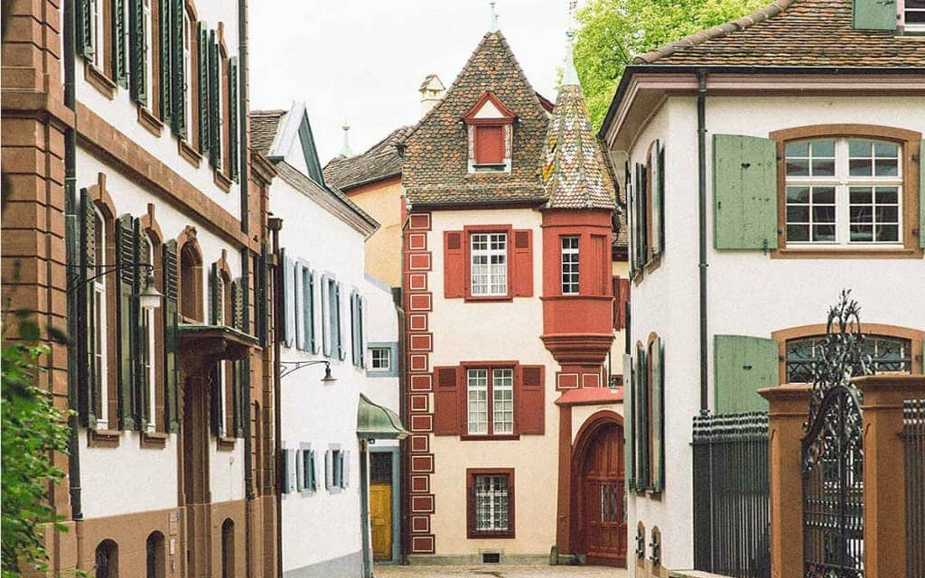 Smaller Cities in Europe Basel-Switzerland-Sher-She-Goes