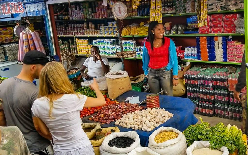 Barahona central market, DR