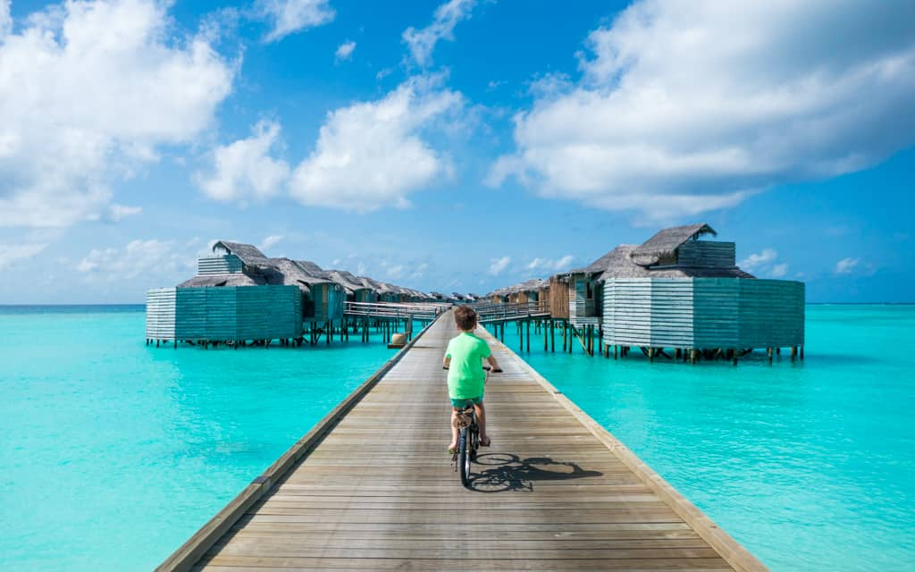 Family Travel 2018 At Six Senses Laamu In The Maldives