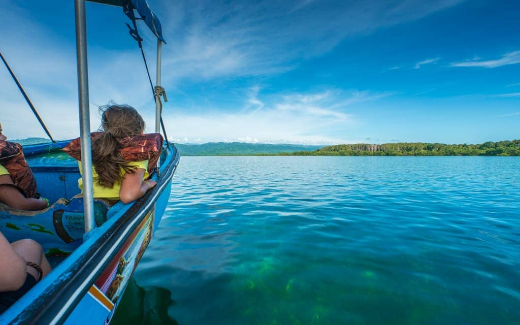 Family Travel 2018: Most transportation in Bocas del Toro is via boat