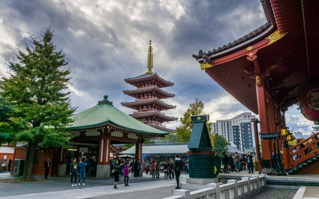 Family Travel 2018: Tokyo's Sensoji Temple