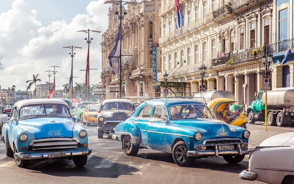 One of the most colorful places in the world is Havana Cuba. Photo by Sher Jordon of SherSheGoes.com