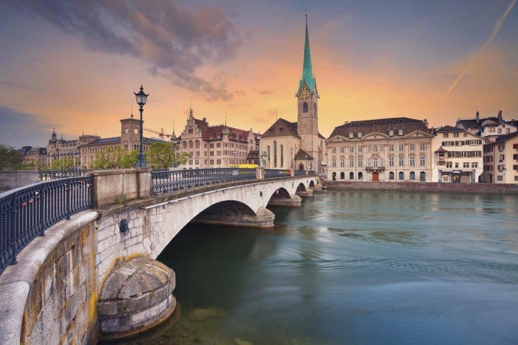 Best Places in Europe to Propose - Zurich, Switzerland