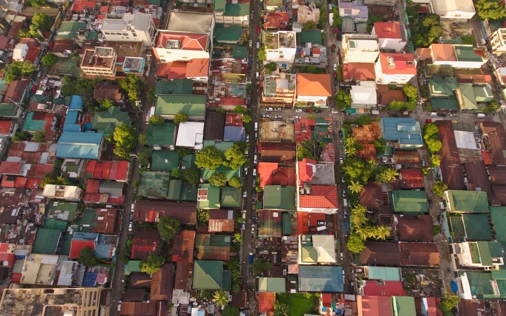 Manila aerial photo by Mike of MikesRoadTrip.com