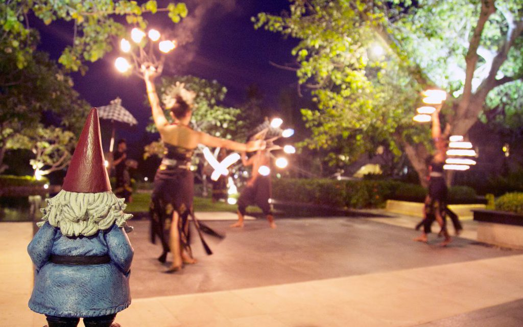 The nightly Fire Dance at The Laguna, a Luxury Collection Resort & Spa, Nusa, Dua, Bali