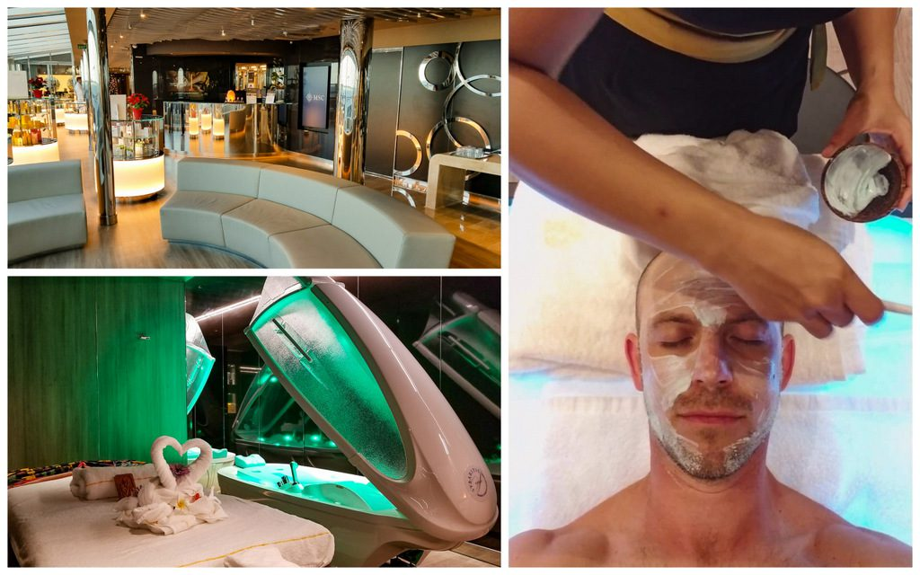 MSC Seaside Aurea Spa Treatments