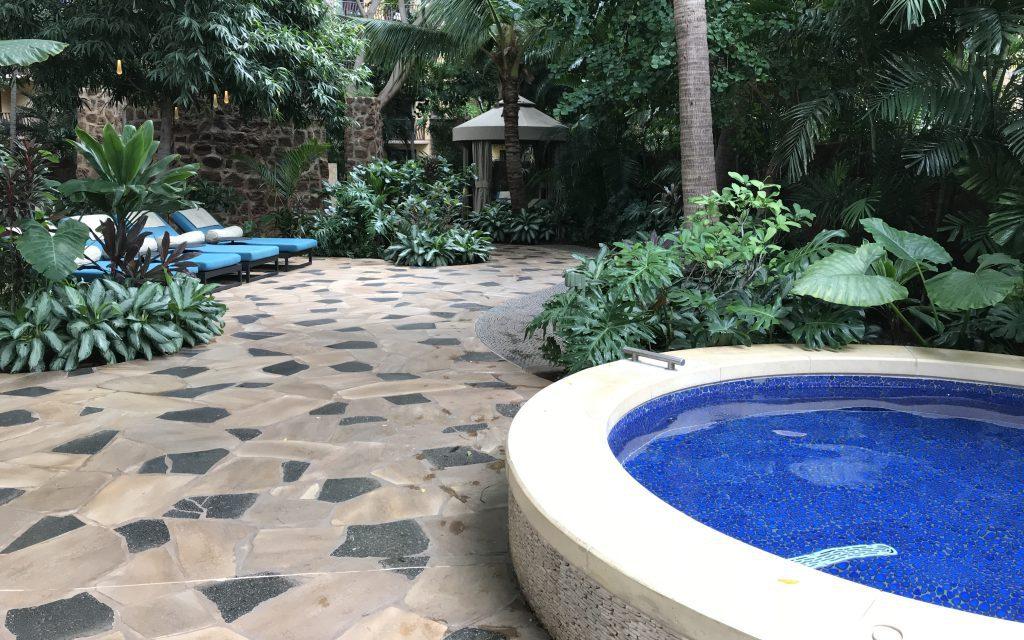Alumni Hydrotherapy Spa Garden Oahu