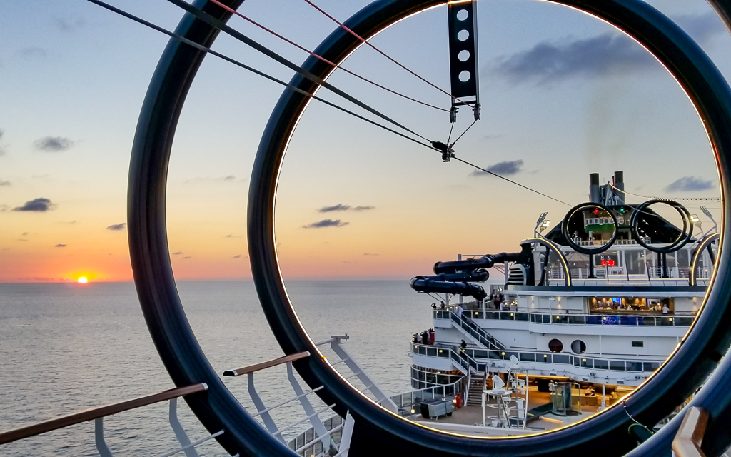 One of longest cruise ziplines