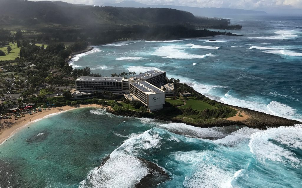 Turtle Bay Resort Paradise Helicopters Oahu