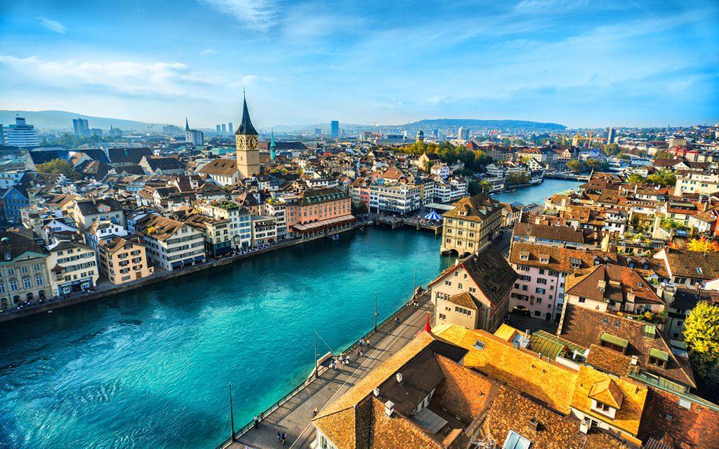 How to Spend a Leisurely Escape in Zurich - Zurich Switzerland aerial view, Travelocity