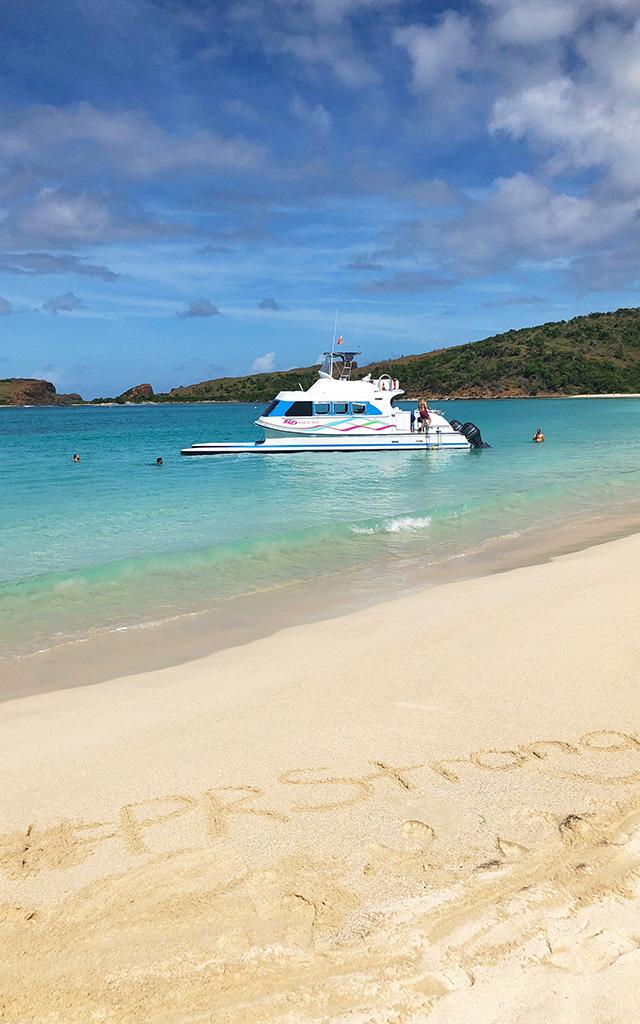 #PRstrong on Culebrita Beach