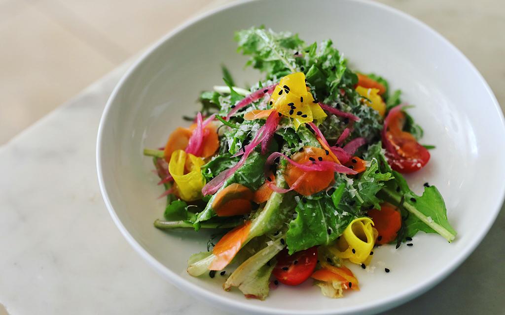 Mesclun salad from Verde Mesa