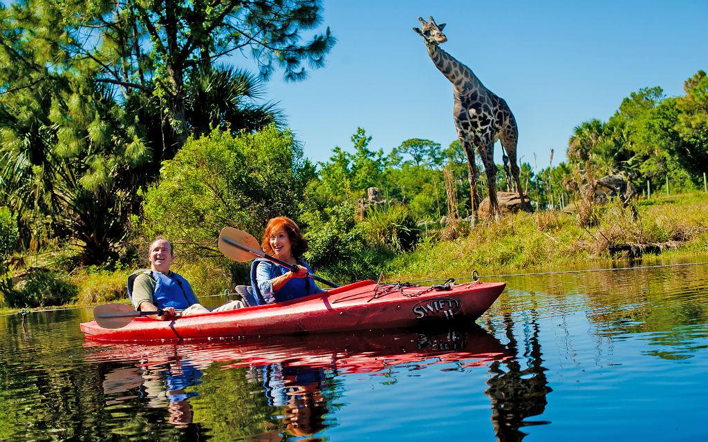 Brevard Zoo Kayak