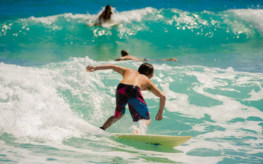 Things to do in Space Coast Florida- surfing in Cocoa Beach
