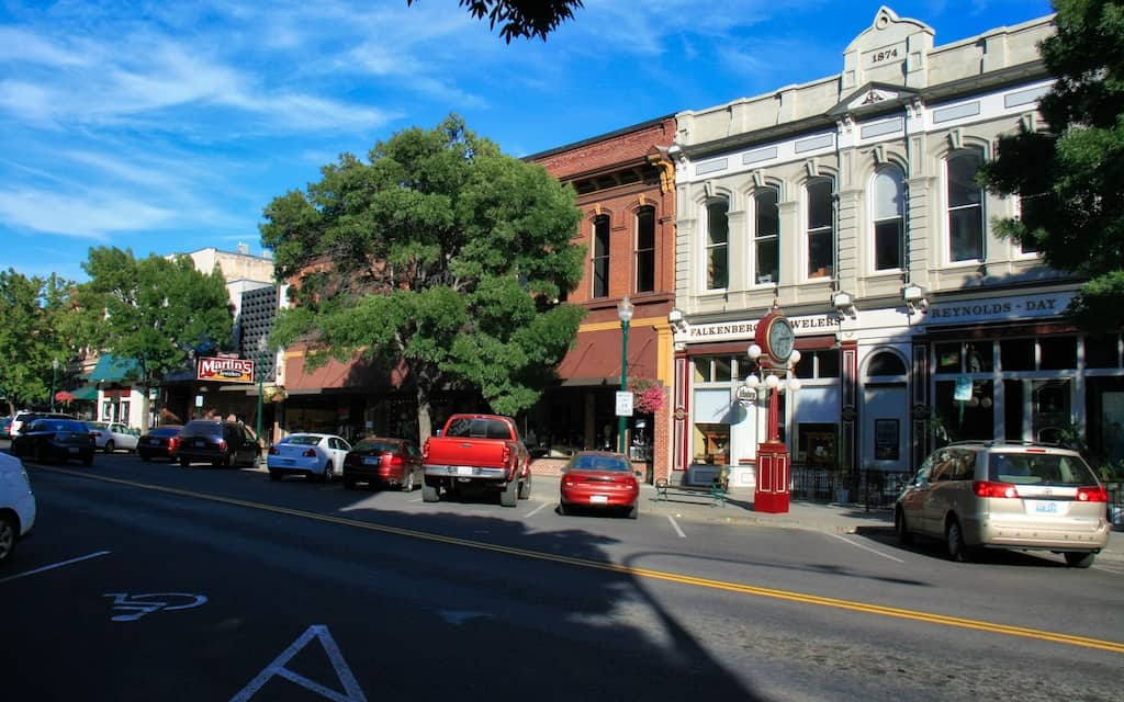 Walla Walla Washington is one of the best small city road trip destinations for 2018. Photo by: Mike Shubic of MikesRoadTrip.com