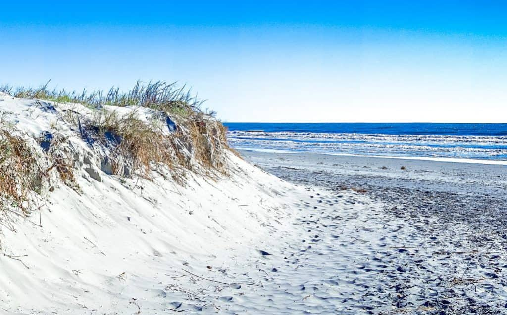 Kiawah Island, located southwest of Charleston