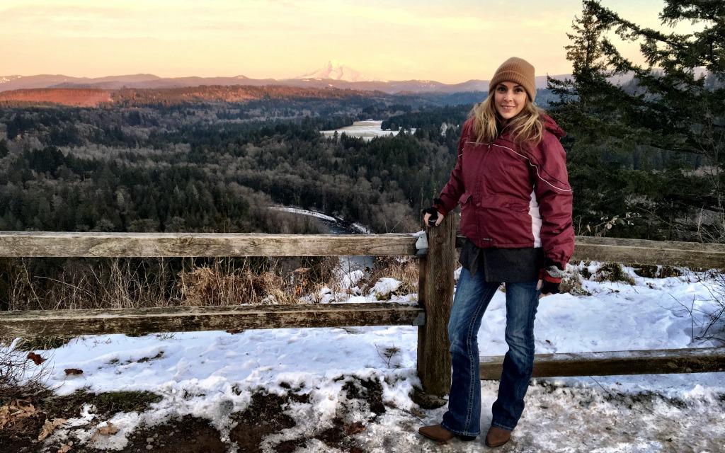 Jonsrud Viewpoint an ideal spot to overlook Mt. Hood.