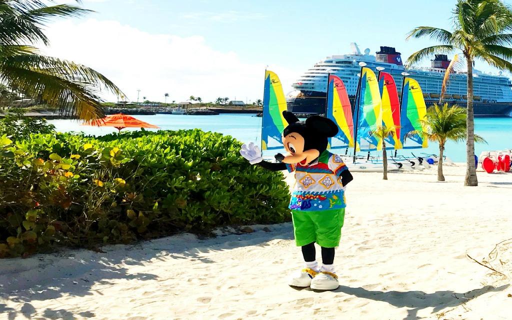 Mickey on Castaway Cay