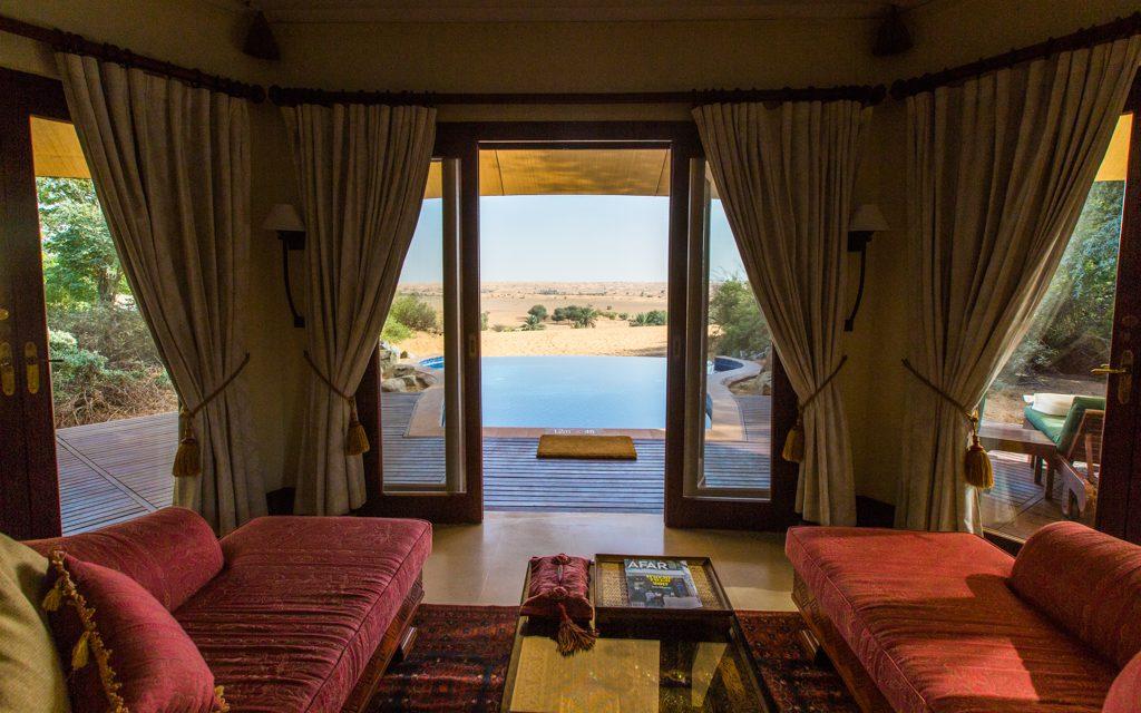 Extraordinary hotels: Al Maha Desert Resort